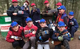 kids laser tag devon