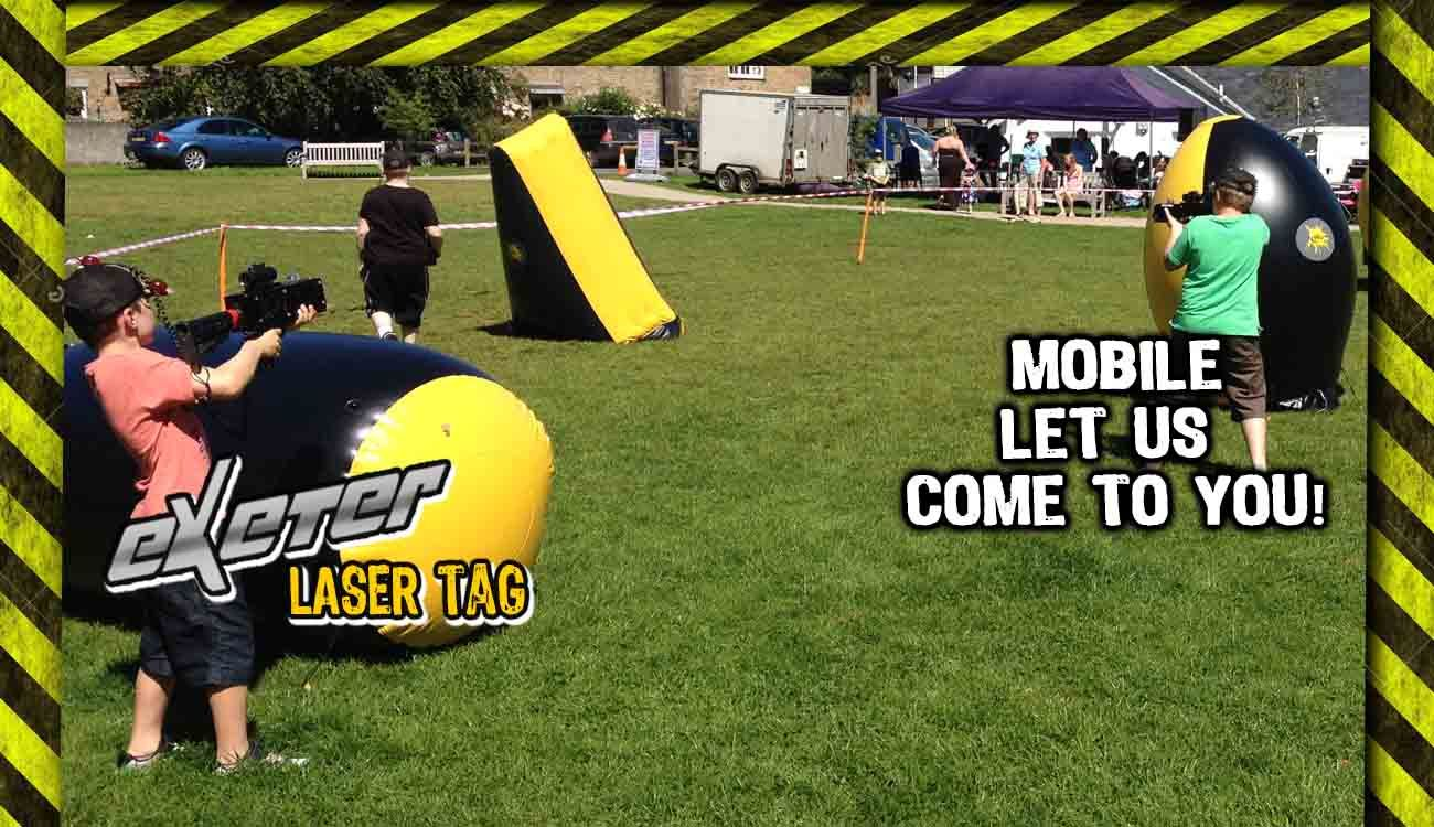 Mobile Laser Tag Exeter Devon